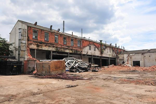 Rotten Park Road Demolition