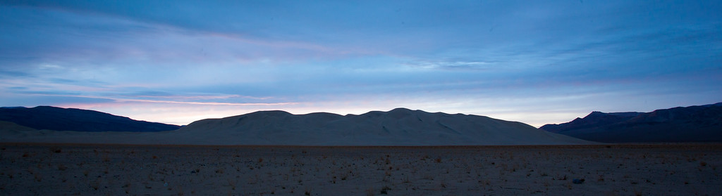 Night Falls on Eureka Sand Dunes
