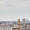 Paris Skyline from the east