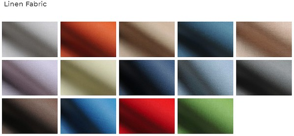 Album Cover Color Linen Fabric
