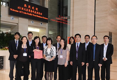 2011-3 First Airport Tour for World Business Partners to Incheon, Beijing and Nanjing airports in September 2011
