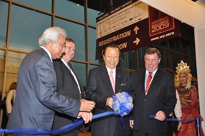 2009-2 Opening Ceremony of the ACI World and Asia-Pacific Conference in Kuala Lumpur, November 2009