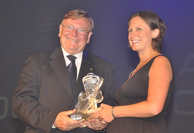 2009-1 Mrs. Frances Cream of Gold Coast Airport, winner of the first Young Executive of the Year in 2009