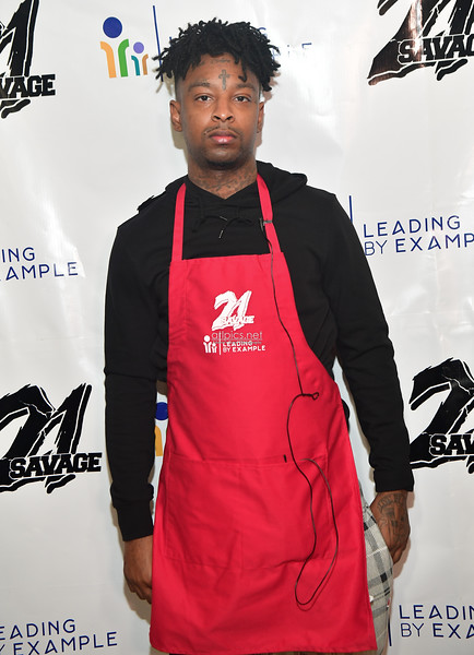 11.26.19 THANKSGIVING DINNER HOSTED BY 21 SAVAGE