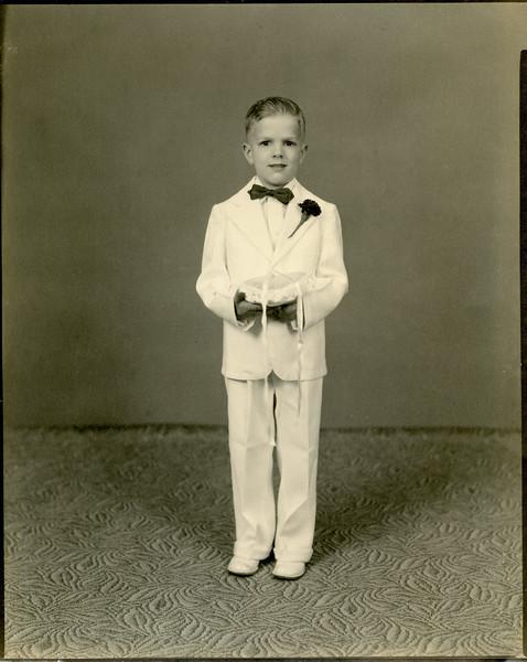 1951 - dch ring bearer (as-rs wedding)