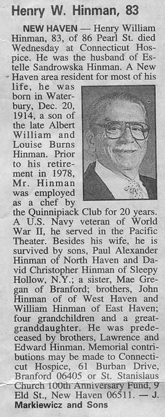 1998 - hwh obituary