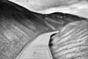 Curtiss Abbott. Painted Hills. After B&W conversion.