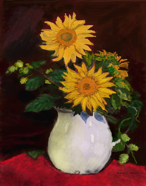 sunflowers-Mary Smith