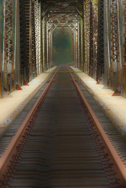 The Next Journey - Railroad Trestle - Acme, Oregon