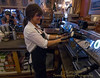 Barista at work - Sisters Photo Club member Jack Walker photographs Debbie Schierholtz while she is brewing up some of the best coffee in the Pacific Northwest when she is at the helm of this espresso machine at Sisters Coffee Company in Sisters, Oregon. Gary N. Miller - Sisters Country Photography