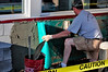 0730 Fixing the car hole. Madras, Oregon - Bill Volmer
