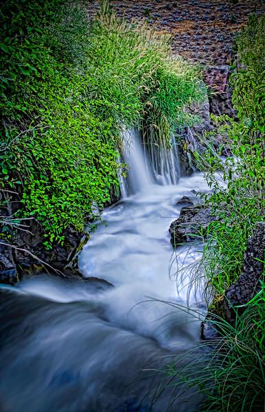 Cline Falls Waterway  greg waddell