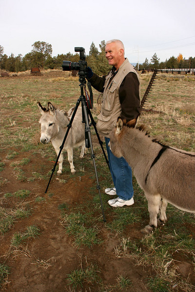 Come on guys - you keep bumping the tripod!Photo by Sue Anderson.