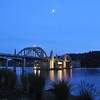 Moonlight over Siuslaw Bridge,Bill V