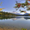 Reflections on Lost Lake. Bill Vollmer