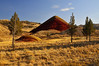 Red Hill, a small butte in the Painted Hills Unit Of the John Day Fossil Beds National Monument. 11-8-11 Bill Vollmer