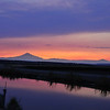 Mt Jefferson Sunset during central Oregon Fires. BV