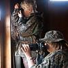 Linda and Mary shooting birds - Sue Anderson