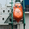 Escape Pod on the vessel Seastar Endurance stands at the immediate ready - Photo by Gary Miller - Sisters Country Photography