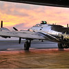 Sentimental Journey looks into the Sunset. Madras Airshow 2011. Bill Vollmer