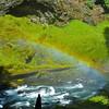 Sahalie Falls Rainbow--Sandy Koch