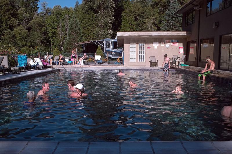 Belknap Hot Springs  - pool fun
