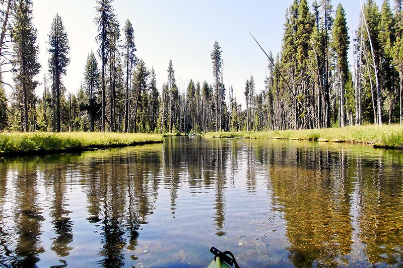 Silent Creek, August, 2012 - Conrad