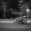 Motorcycle on Cascade Avenue by Bill Birnbaum