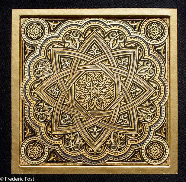 Moorish Gold Design2 Fred Fost April 11, 2017