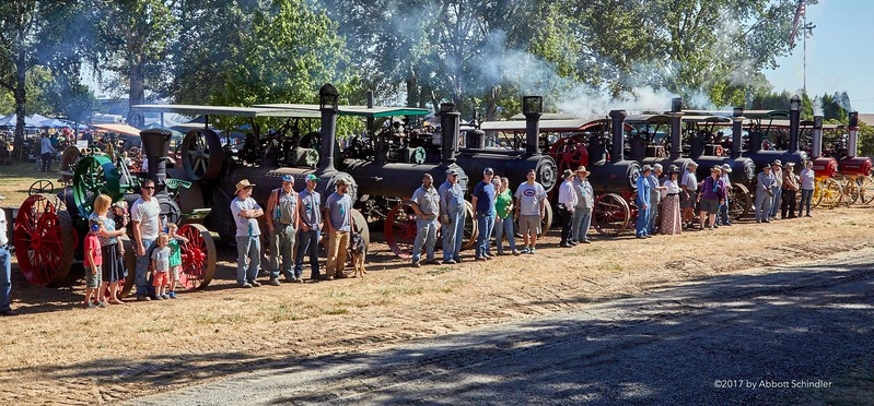 steam tractor lineup