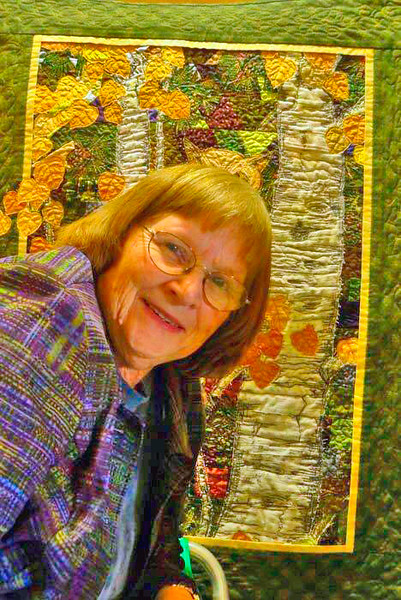 Mary D Smith - a quilt artist extraordinare!