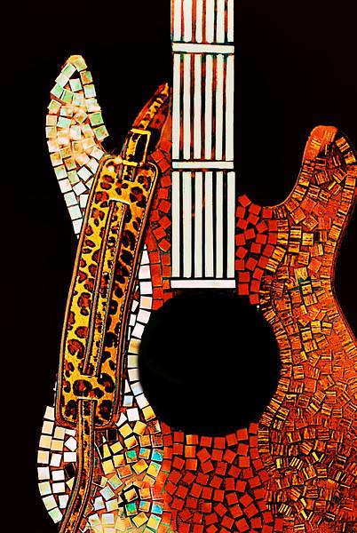 Guitar-Leopard-Austin 194-E