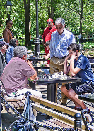 Chess at Washington Square