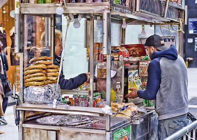 Street Vendor, SoHo