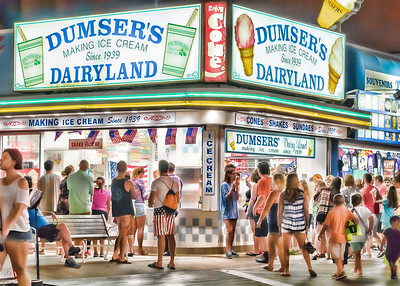 Dumser's Dairyland OCMD Boardwalk