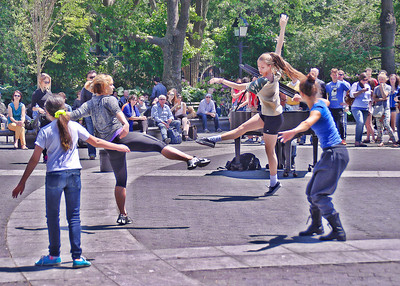 Dancers, Washington Square