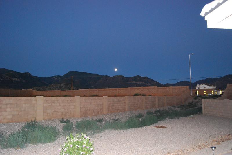 9. Moon down at 4:00 AM.