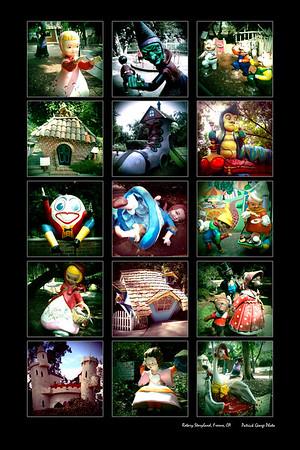 Fresno Rotary Storyland photo montage
