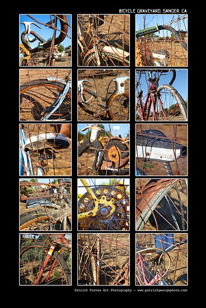 Bicycle Graveyard photo montage