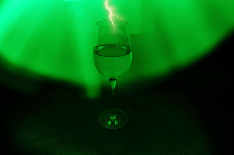 How about a nice glass of white lightning!