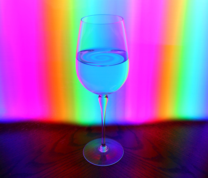How about a glass of light art!