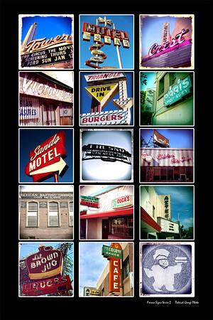 Fresno retro signage series 2