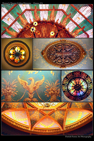 Warnor's Theater Ceiling Elements print
