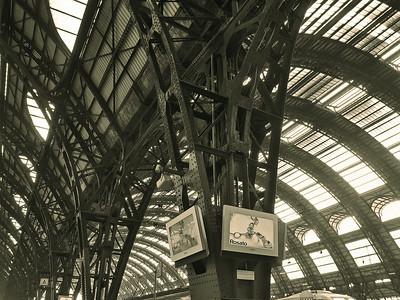 Train Station, Milan Italy