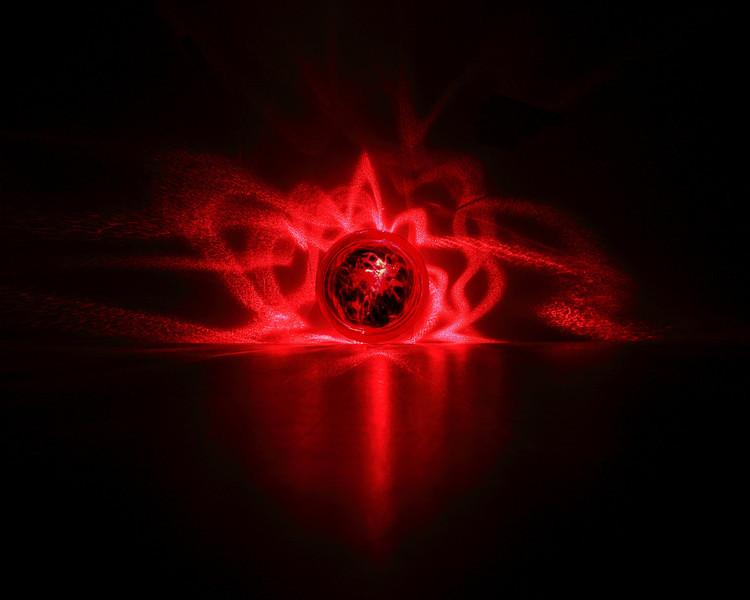 Laser orb