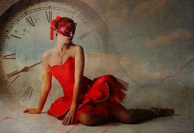 Ballerina In Red
