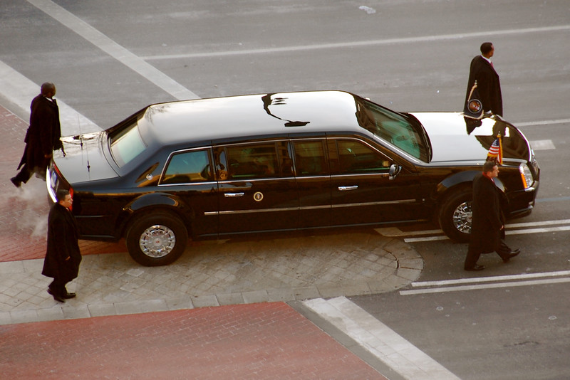 Inauguration - President Obama's Limo