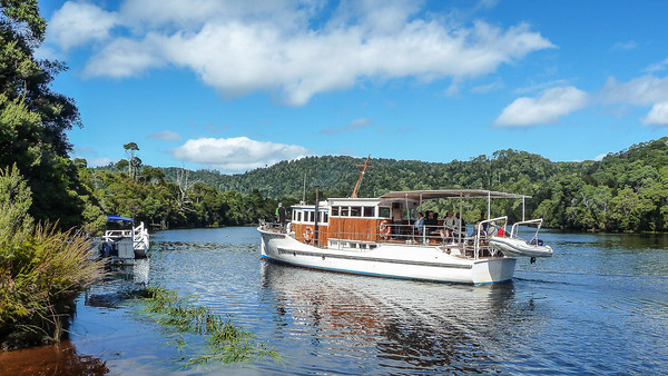 A Day on the Pieman River, Tasmania, Australia