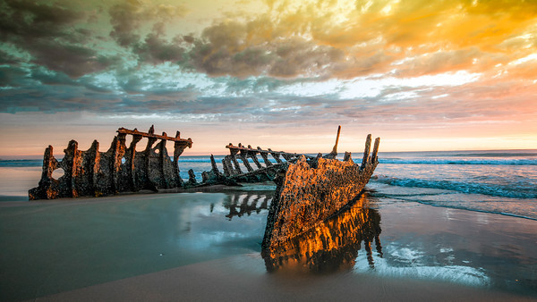 "The wreck of the ""Dickie"""
