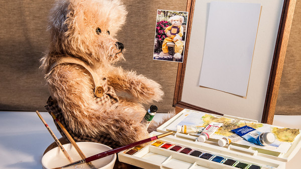 Bearly Painting